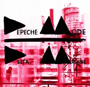 Depeche Mode - Delta Machine CD borító.