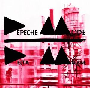 Depeche Mode - Delta Machine CD borító.