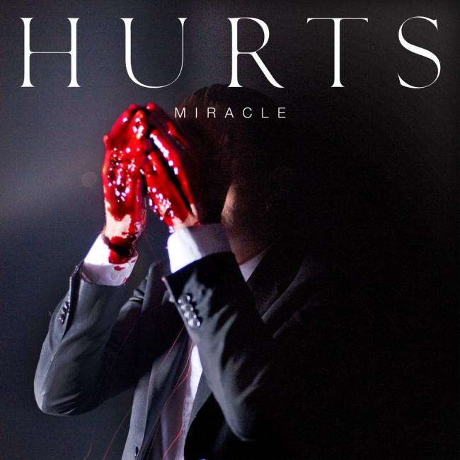 Hurts - Miracle CD borító.
