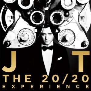 Justin Timberlake - The 20 / 20 CD borító.