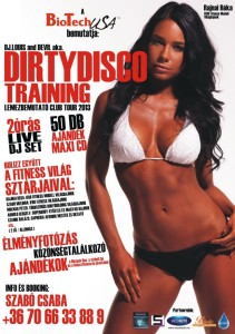 Training Club Tour Flyer.
