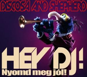 Discosa and Sheperd - Hej DJ! CD borító.