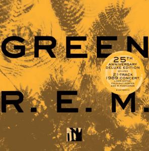 REM - Green CD borító.