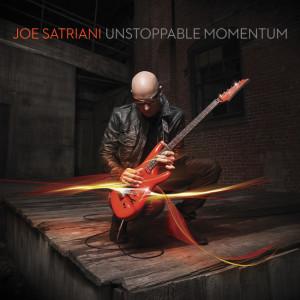 Joe Satriani - Unstoppable Momentum CD borító.