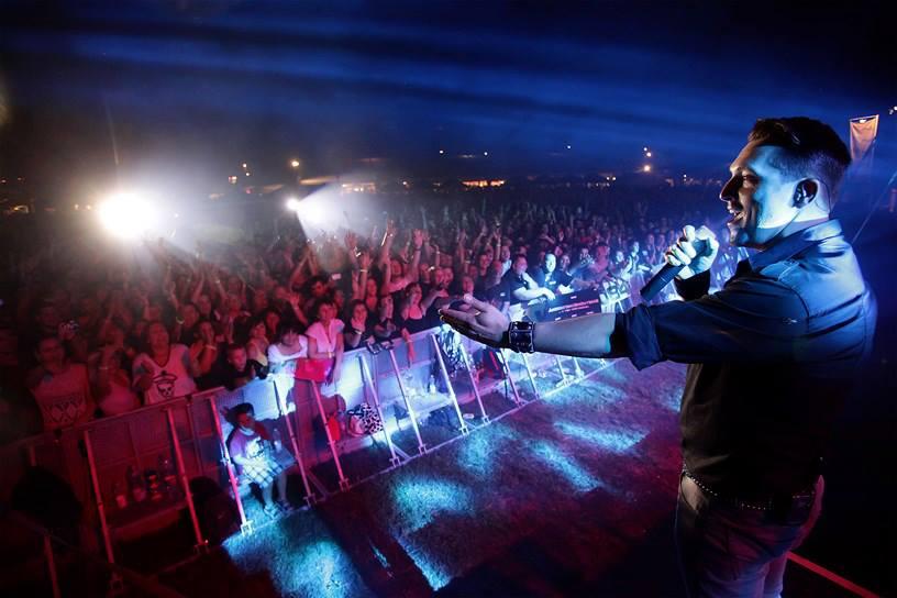 Ákos Békéscsabán, a Sörfesztiválon, 2013-ban!