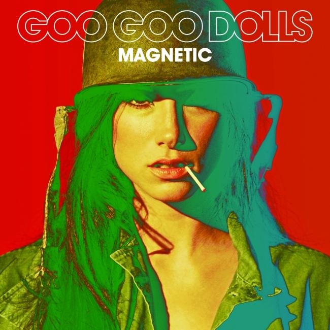Goo Goo Dolls - Magnetic CD borító.