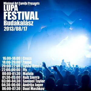 Lupa Festival flyer / plakát.