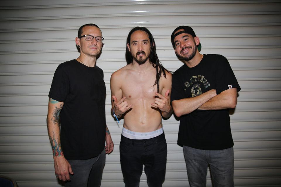 Linkin Park és Steve Aoki.