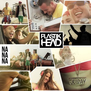 Plastikhead - Nanana CD borító.
