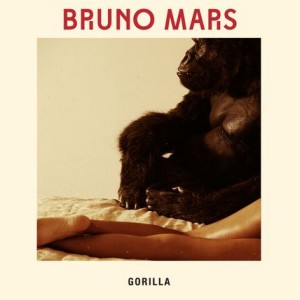 Bruno Mars - Gorilla - CD borító - CD Cover.