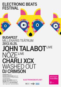 Electronic Beats Festival Budapest 2013.