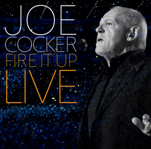 Joe Cocker Fire It Up Live CD borító / CD Cover.