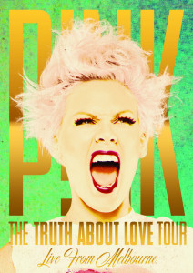 P!nk - The Truth About Love - Live In Melbourne - DVD borító / cover.