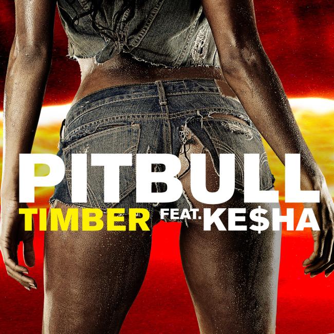 Pitbull feat. Ke$ha - Timber CD borító.