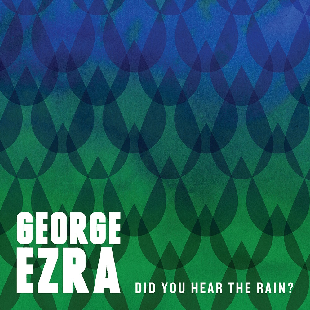 George Ezrat - Did You Hear The Rain CD borító / CD Cover.
