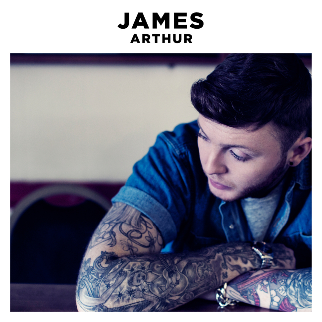 James Arthur - James Arthur Cd borító - CD cover 2013.