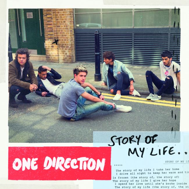 One Direction - Story Of My Life CD boritó - Cover.