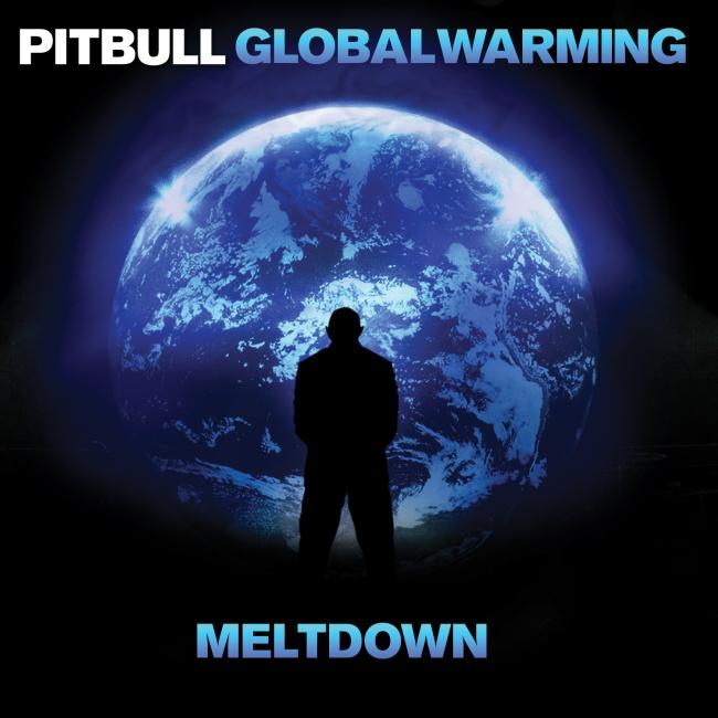 Pitbull - Global Warming Meltdown Cd borító / CD Cover.