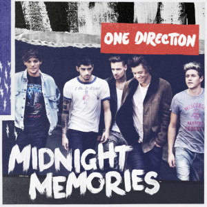 One Direction - Midnight Memories CD Cover / CD borító.