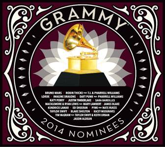 Grammy Nominees album 2014.