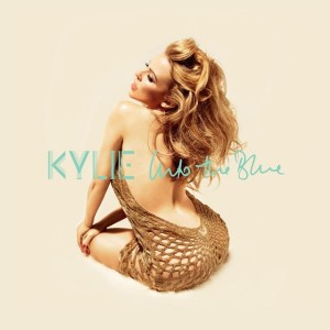 Kylie Minogue - Into The Blue CD borító / CD cover.