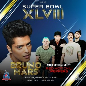 Bruno Mars & Red Hot Cilli Peppers a Super Bowl félidejében!