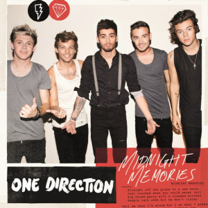 One Direction - Midnight Memories CD borító / CD cover.