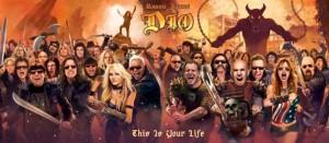 Ronnie James Dio.