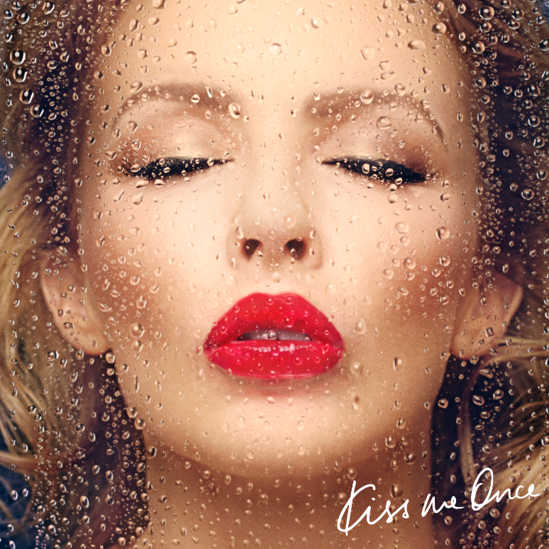 Kylie Minogue - Kiss Me Once CD lemez borító / CD cover.