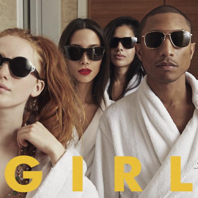Pharrell Williams - G I R L CD Cover / Lemez borító.