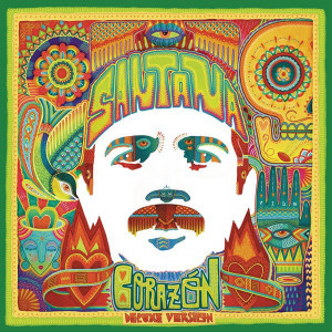 Carlos Santana - Corazón Cd borító - Cd Cover. 2014.