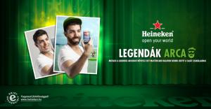 Heineken legendak arca flyer.