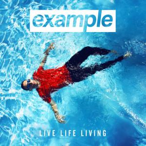 Example - Live Life Living CD borító - Cover - 2014.