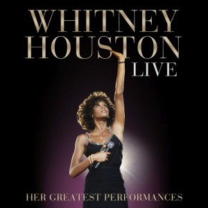 Whitney Houston CD cover - CD borító.