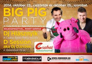Big Pig Party a 2014-es Csabai Kolbászfesztiválon.