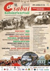 A Csabai Kolbászfesztivál 2014-es programjai.
