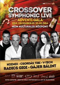 2014.12.13. Crossover Shymponic Live Plakát.
