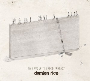 Damien Rice - My Favourite Faded Fantasy CD cover / CD borító 2014.