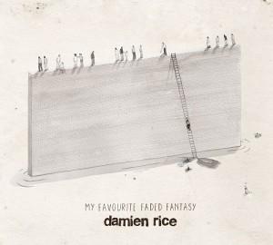 Damien Rice - My Favourite Faded Fantasy CD cover / CD borító 2014.