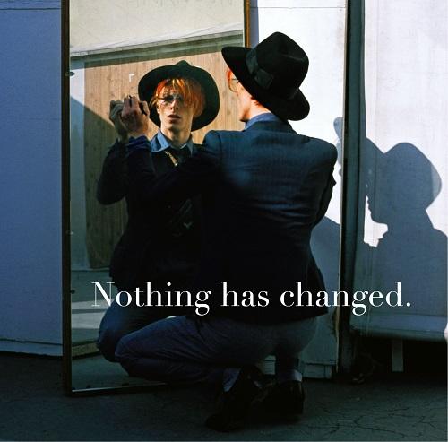 David Bowie - Nothing Has Changed 2CD CD cover / CD borító 2014.