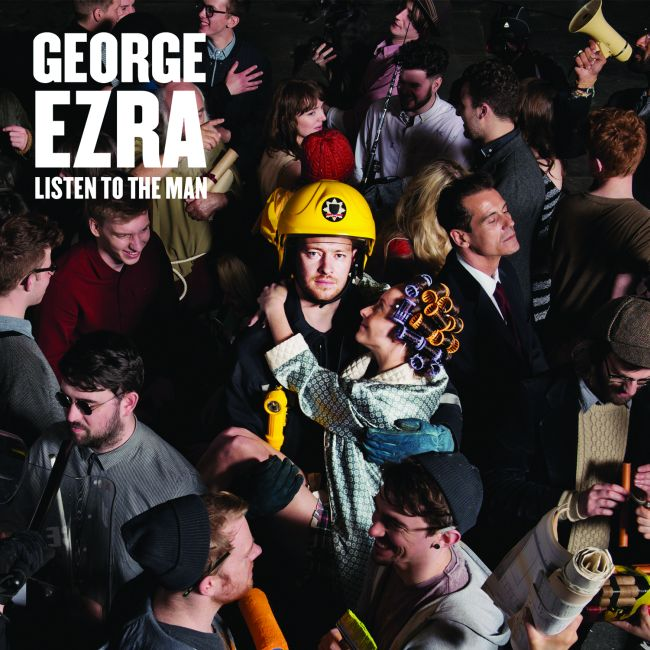 George Ezra - Listen To The Man CD cover / CD borító 2014.