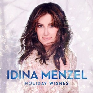 Idina Menzel - Holiday Wishes CD cover / CD borító 2014.