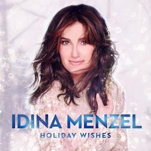 Idina Menzel - Holiday Wishes CD cover / CD borító 2014.
