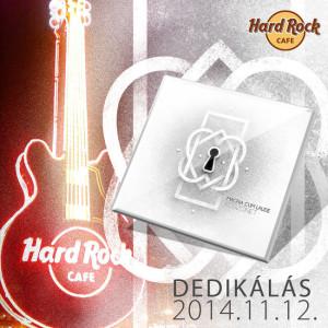 Magna Cum Laude - Hard Rock Cafe dedikalas 2014.11.12-én, Budapesten, a Hard Rock Cafe-ban!