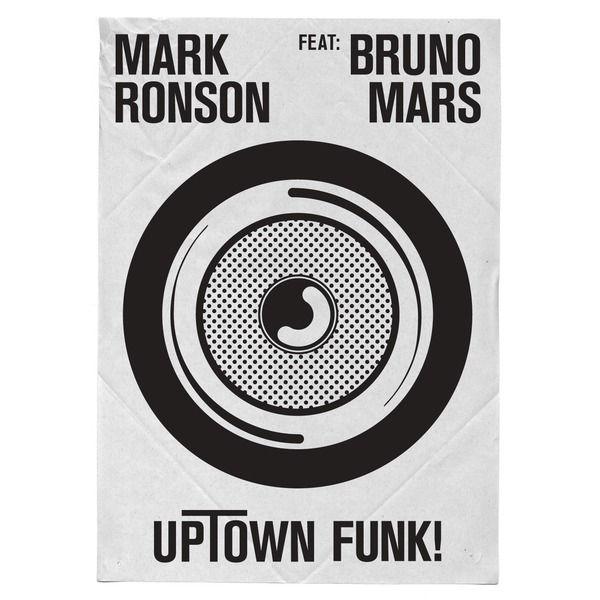 Mark Ronson feat. Bruno Mars - Uptown Funk CD Cover / CD borító2014.