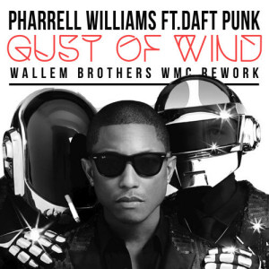 Pharrell Williams feat. Daft Punk - Gust of Wind 2014 CD cover / CD borító.