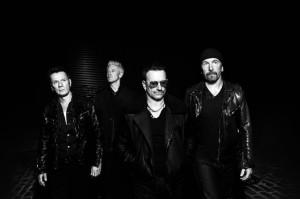 A U2 zenekar.