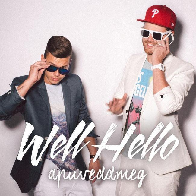 Well Hello - apuveddmeg CD borító - CD cover 2014.