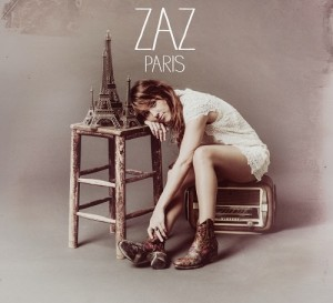 Zaz - Paris CD Cover / CD borító 2014.