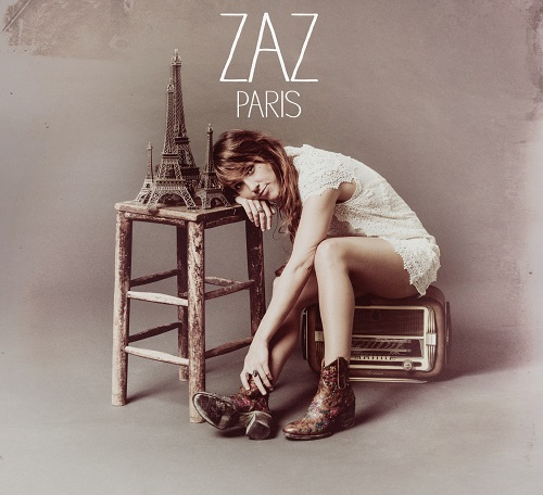 Zaz - Paris CD Cover / CD borító 2014.